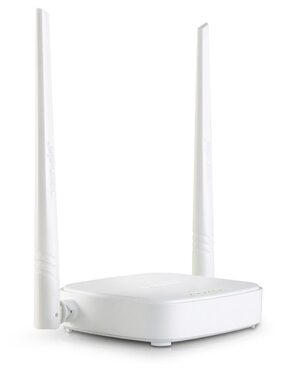 Tenda N301/N300 300 Mbps Wireless without Modem Router (White)