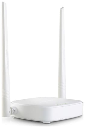 Tenda N301 300 Mbps WiFi Router (White)