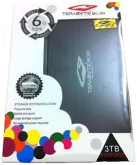 Terabyte GOLD Slim 2.5 USB 3.0 SATA External Hard Drive Casing