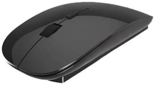Terabyte Sleek Piano Wireless Optical Mouse (Black)
