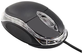 Terabyte Wired Mouse ( Black )