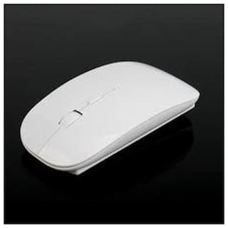 Terabyte Ultra Thin Wireless Optical Mouse (White)
