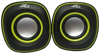 Terabyte Wired Portable Speaker ( Black & Yellow )