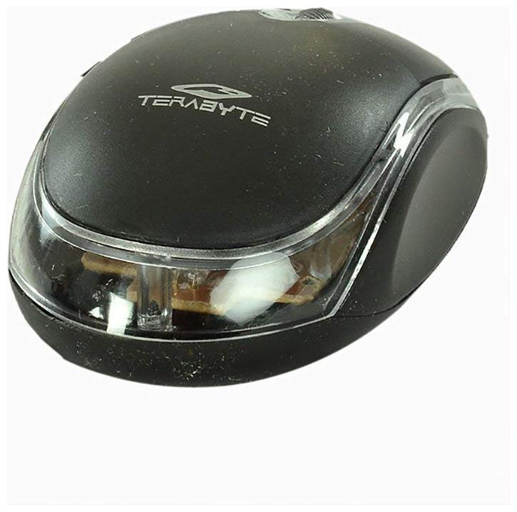 Terabyte USB  Wired  Mouse Black