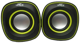 Terabyte Portable Wired Speaker ( Black & Yellow )