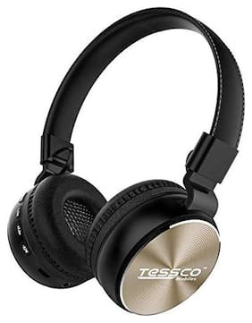 Tessco BH-390 Over-Ear Bluetooth Headset ( Gold )