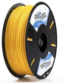 Tesseract 1.75mm PLA Yellow Filament (1 Kg Spool)