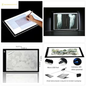 Tikteck A4 Ultra-thin Portable LED Light Box Tracer USB Power Cable Dimmable Bri