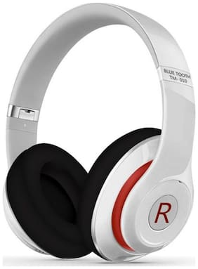 5PLUS TM010 On-Ear Bluetooth Headset ( White )