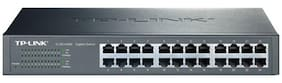 TP-LINK TL-SG1024D 24 Port 10/100/1000 Mbps Unmanaged Gigabit Desktop/Rackmount Switch