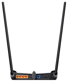 TP-LINK TL-WR841HP 300 mbps WiFi Router (Black)