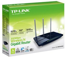 TP-LINK TL-WR1043ND 300 Mbps WiFi Router (White)