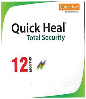 Quick Heal Total security ( 1 pc , 1 year )