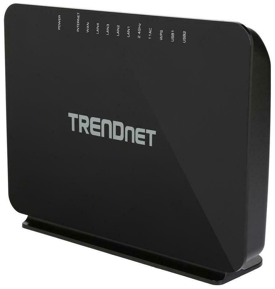 TRENDnet TEW 816DRM AC750 Wireless VDSL2 / ADSL2+ Modem Router