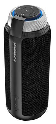 Tronsmart Element T6 25W Portable Bluetooth Speaker with 360?Stereo Sound and Built-in Microphone-Black