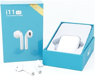 TSV In-Ear Bluetooth Headset ( White )