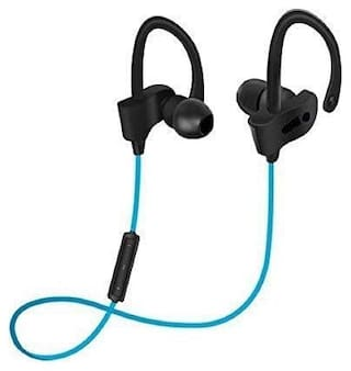 TSV  QC-10 Bluetooth Waterproof  Stereo Earphone with Mic Design For Sports