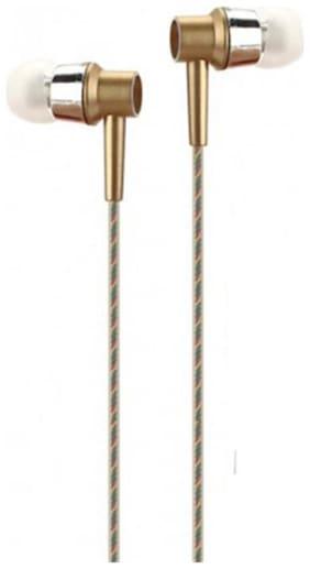 TSV Perfume Handsfree In-Ear Wired Headphone ( Gold )
