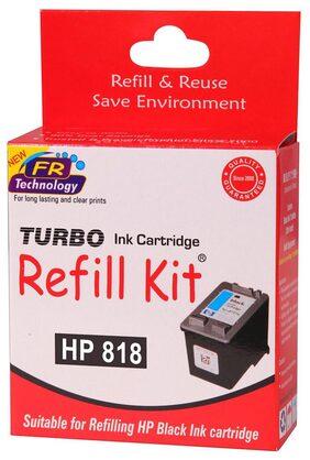 Turbo Refill Kit For HP 818 Ink Cartridge (Black)