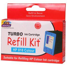 Turbo Refill Kit For HP 818 Ink Cartridge (Multi)