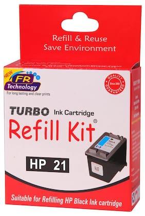 Turbo Refill Kit For HP 21 Ink Cartridge (Black)