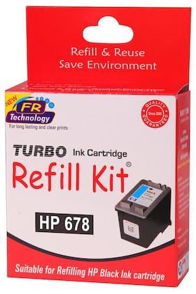 Turbo Refill Kit For HP 678 Ink Cartridge (Black)