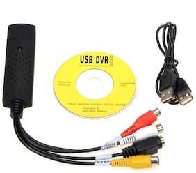 TV-out Cable EasyCap USB 2.0 Audio Video VHS to DVD PC Converter Capture Card Adaptor