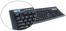 TVS-e Gold Bharat USB Keyboard (Black)