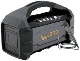 UBON 17A Bluetooth Portable speaker ( Black , Grey )