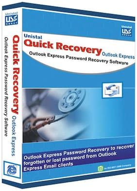 Unistal Quick Recovery - Outlook Express Password (Personal) (1 User/1 Year)- Data Recovery Software