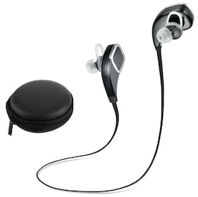 Universal Bluetooth Earphones supports all devices, ultra clear voice, high bass, trebble with 7 m of range with 1 Free Carry Case