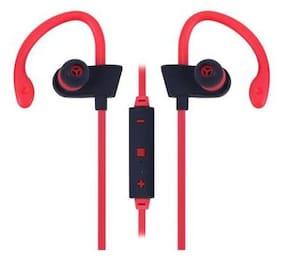 Universal Wireless Bluetooth Sports Earphone Stereo Headset ((Red))