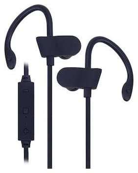 Universal Wireless Bluetooth Sports Earphone Stereo Headset (Black)