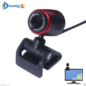 USB 2.0 HD Webcam Camera Web Cam Built-in Mic For Computer PC Laptop Durable US