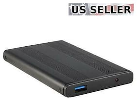 "USB 3.0 2.5"" SATA Hard Drive External Enclosure HDD Case Durable Aluminum"