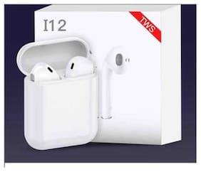 VARIPOT i12 In-Ear Bluetooth Headset ( White )