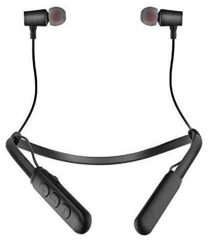 VB Trade VB Trade Wireless Flexible Neckband Stereo Earphones 4.1 with Mic Sports Headsets In Ear Bluetooth Headset   Black   by VB Trade