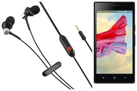 Lyf Wind 4 Earphone With Mic And Premium Quality Sound