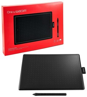 "Wacom CTl-472/K0-CX 6 x 3.5"" Graphics Tablet (Red and Black)"