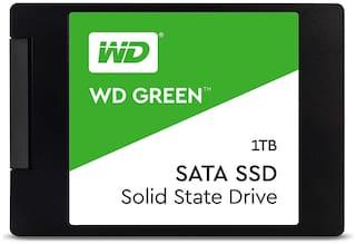 WD Green 1TB Internal PC SSD - SATA III 6 Gb/s, 2.5 inch /7mm - WDS100T2G0A