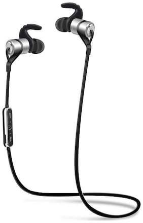 We Cool Moloke Wireless Bluetooth In-Ear Noise-isolating Headphones with Mic for Android and iOS (Black)