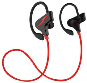 WeCool S30-Red Headset Secure Fit for Sports with Built-in Mic