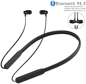 VB TRADE Wireless Bluetooth Neckband Earphones, Compatible for Samsung , Oppo , OnePlus , Redmi Or Other Smartphones In-Ear Bluetooth Headset ( Multi color )