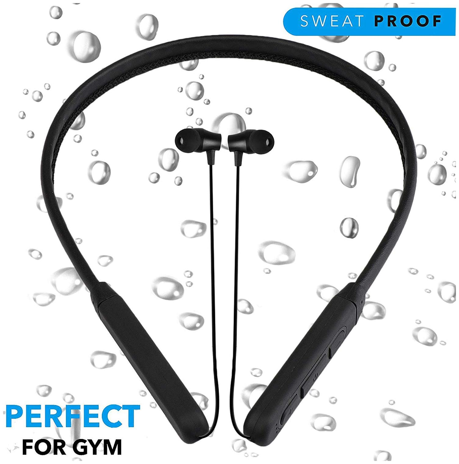 VB TRADE Wireless Bluetooth Neckband Earphones, Compatible for Samsung Oppo , OnePlus...