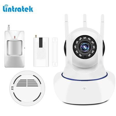 Wireless Home Security Alarm System Remote Motion Sensor Wifi mini Burglar Alarm System Kit 433mhz Security Protection LINTRATEK
