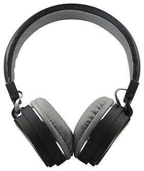 WOCKEEZ SH-12 BLUETOOTH HEADPHONE On-ear Bluetooth Headsets ( Black )