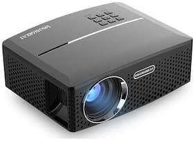 XElectron GP80 Mini Projector 1800 Lumens LED Full Color 1080P Video Media HDMI VGA Home Theater Projector