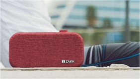 Zakk Lounge Wireless Bluetooth Speaker (Red)