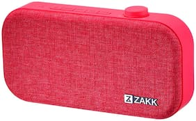 Zakk Lounge Bluetooth Speaker (Red)