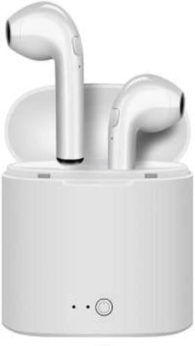 ZAUKY i7 twinsx1 True Wireless Bluetooth Headset ( White )